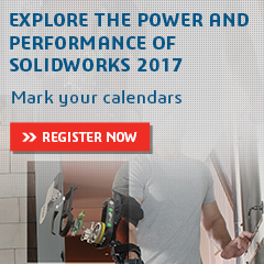 SOLIDWORKS 2017 Launch Events are around the corner!